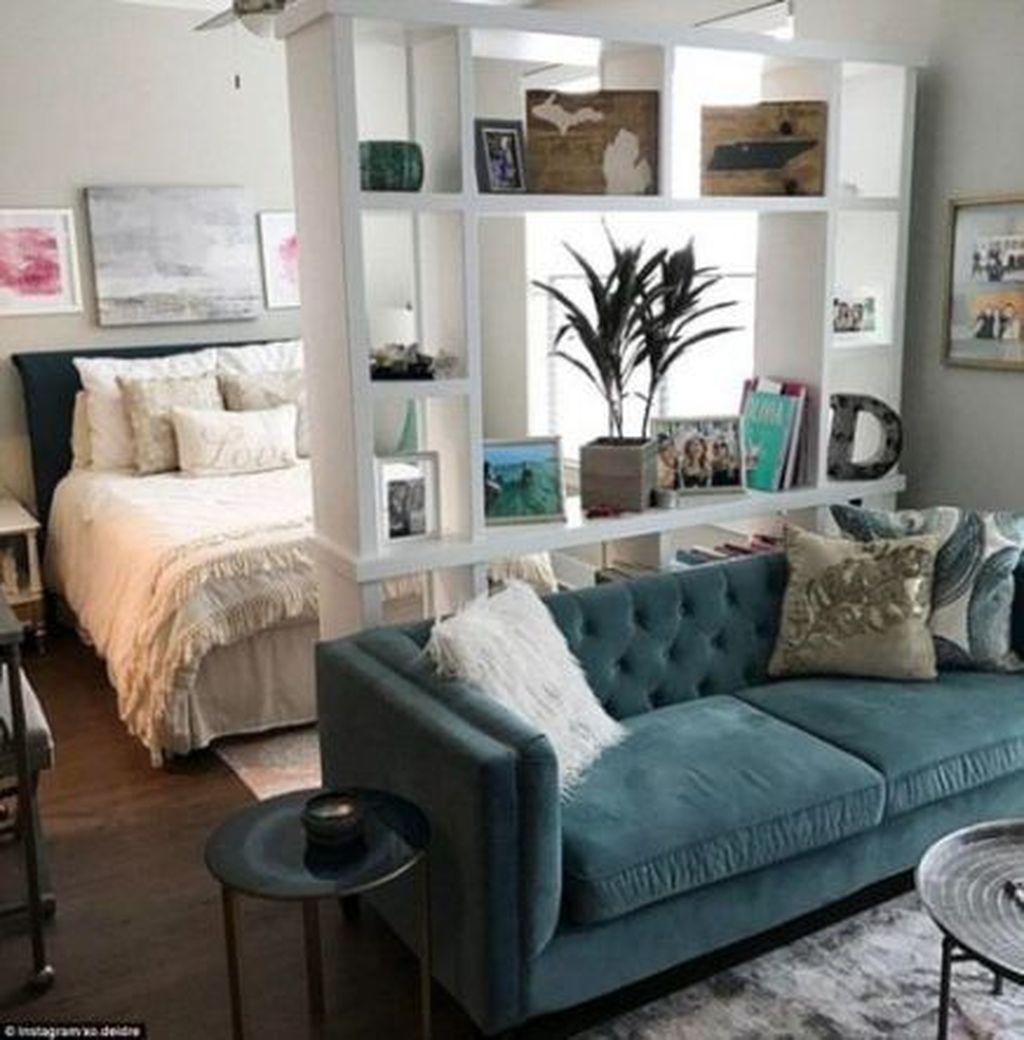 Amazing Studio Apartment Layout Ideas 21