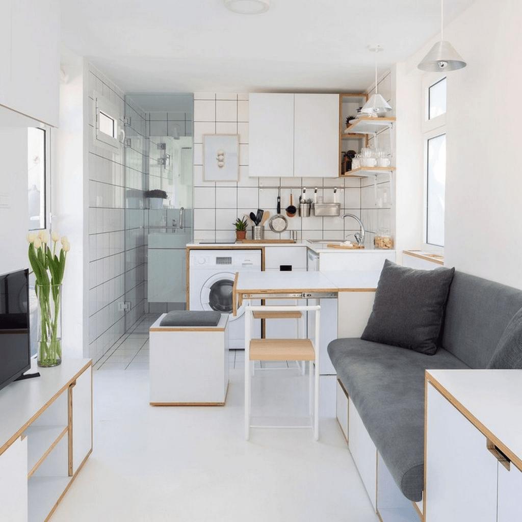 Amazing Studio Apartment Layout Ideas 24