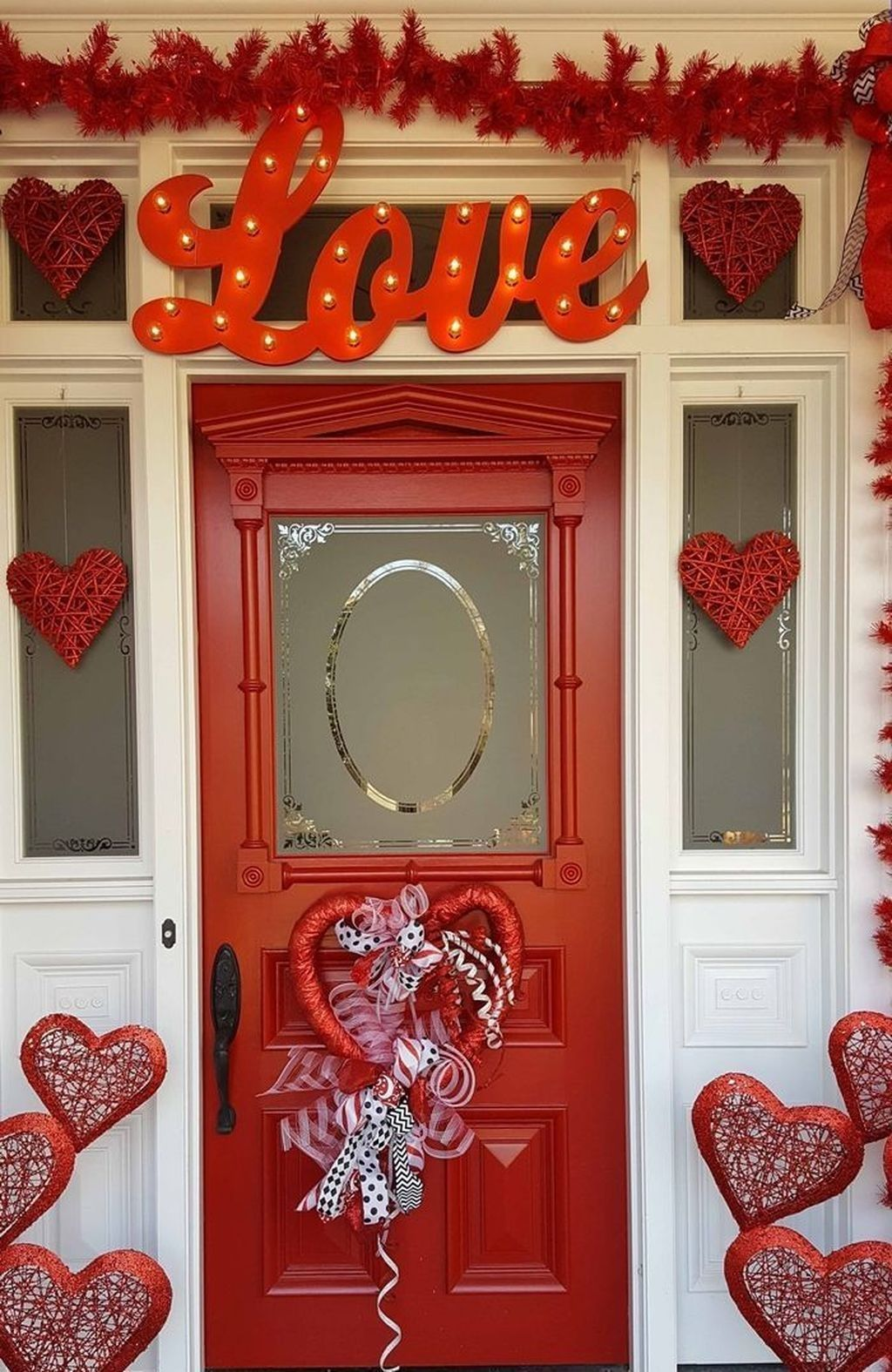 Awesome Valentines Day Porch Decor Ideas Which You Definitely Like 22
