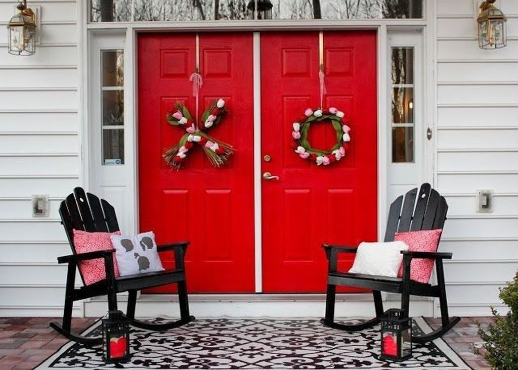 Awesome Valentines Day Porch Decor Ideas Which You Definitely Like 25