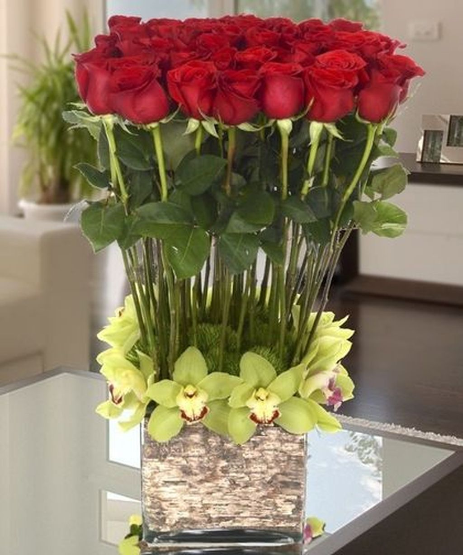 Beautiful Valentine Flower Arrangements That You Will Like 02