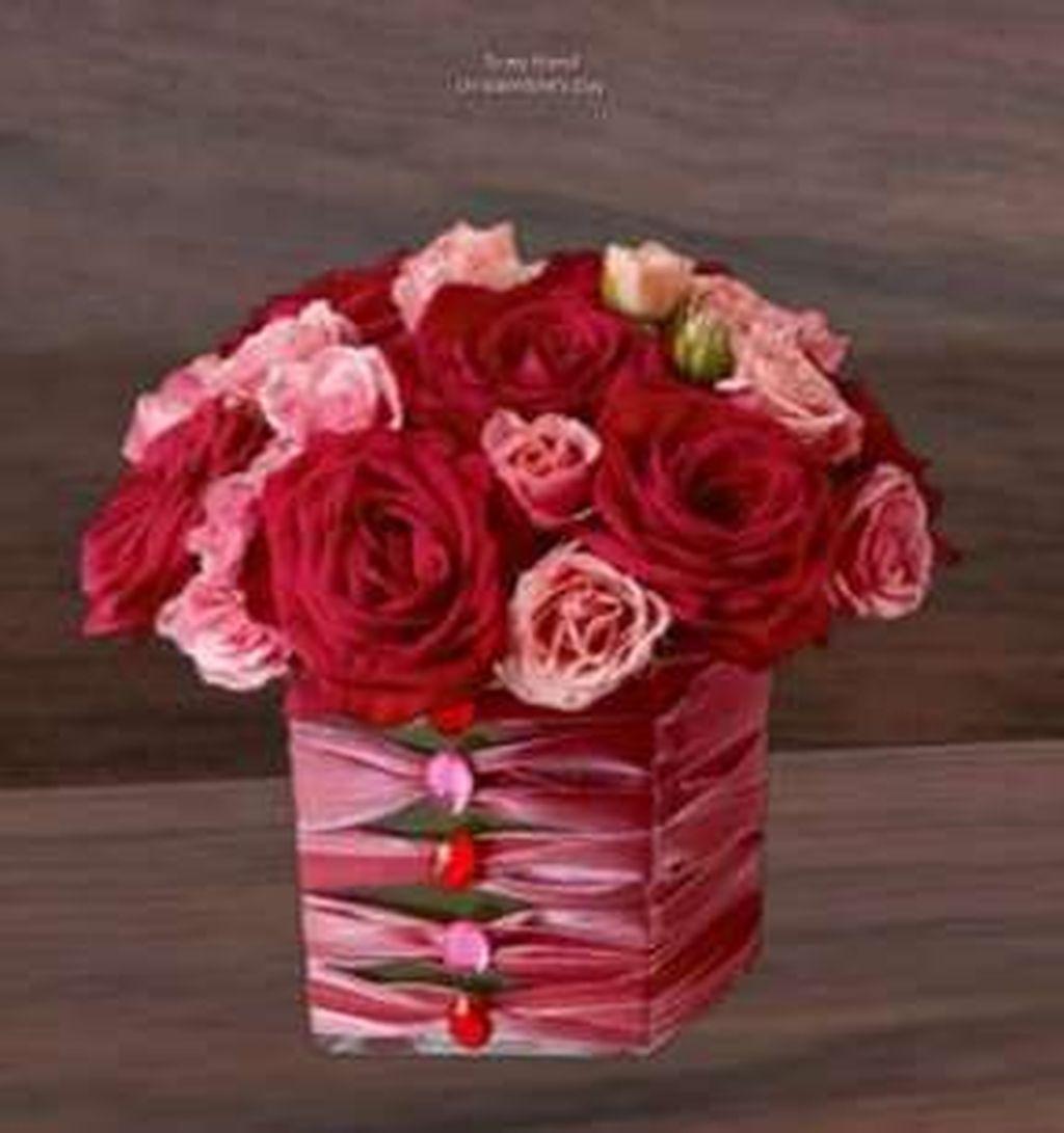 Beautiful Valentine Flower Arrangements That You Will Like 04