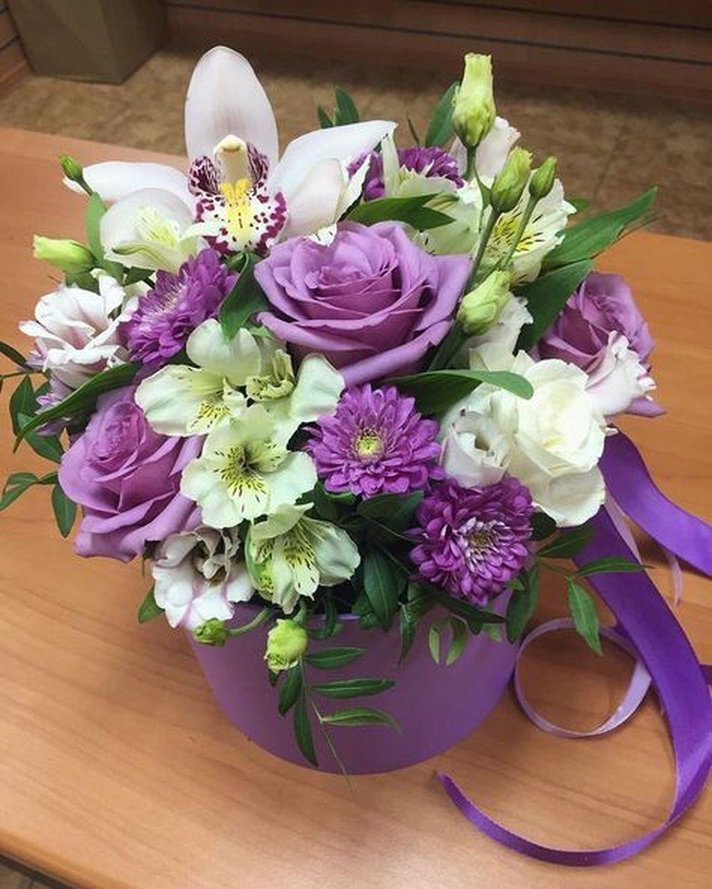 Beautiful Valentine Flower Arrangements That You Will Like 05