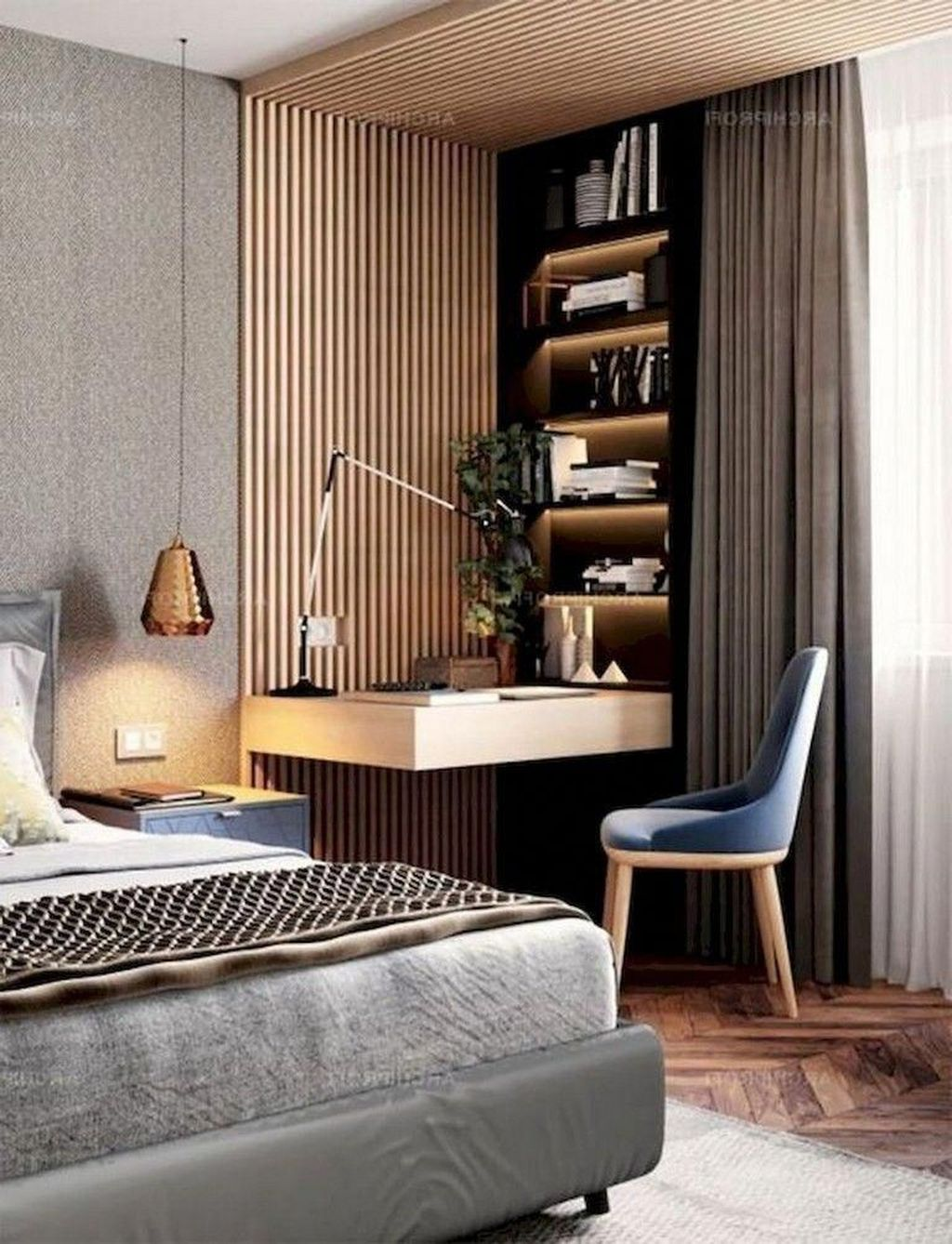 Fabulous Modern Minimalist Bedroom You Have To See 08
