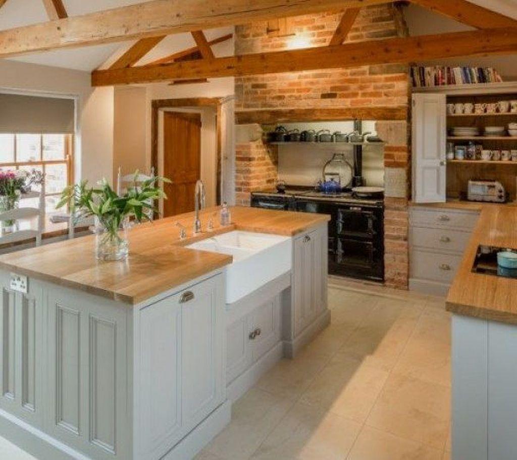 Fabulous Modern Rustic Kitchen Cabinets 15