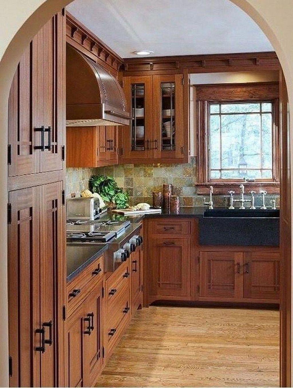 Fabulous Modern Rustic Kitchen Cabinets 21
