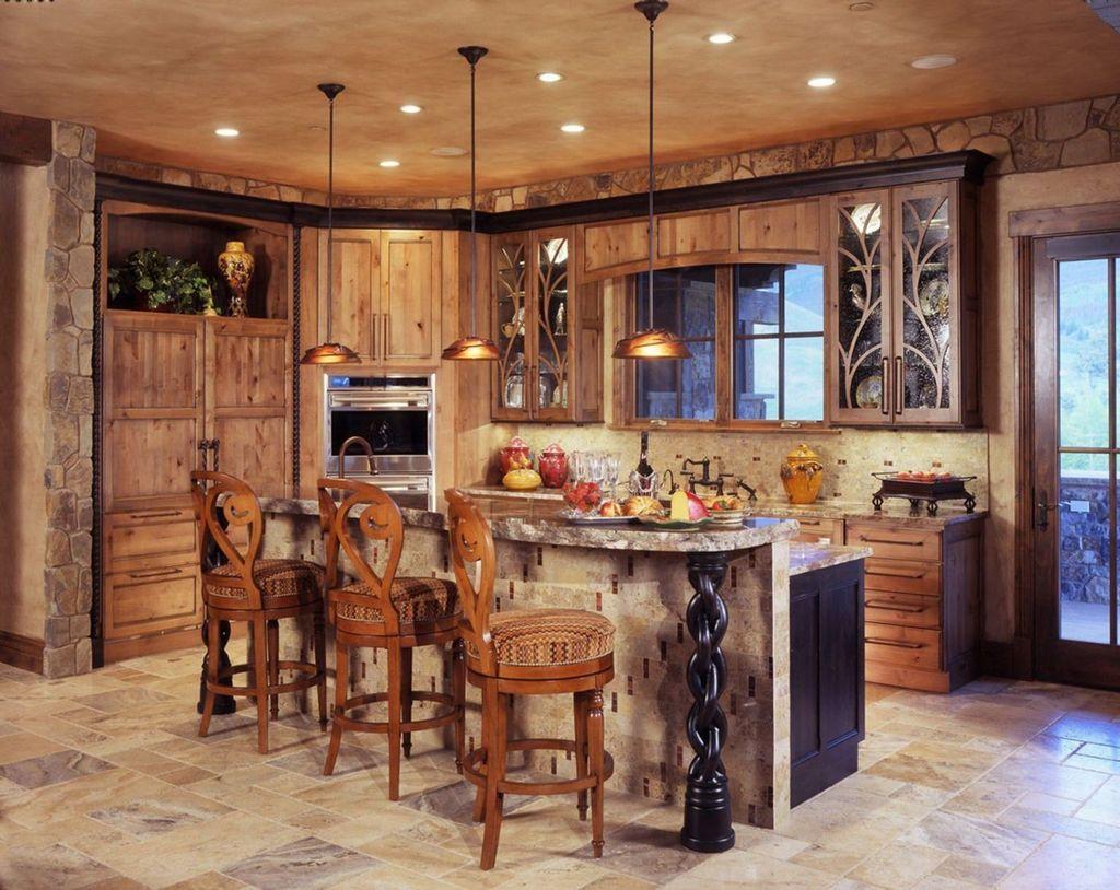 Fabulous Modern Rustic Kitchen Cabinets 28
