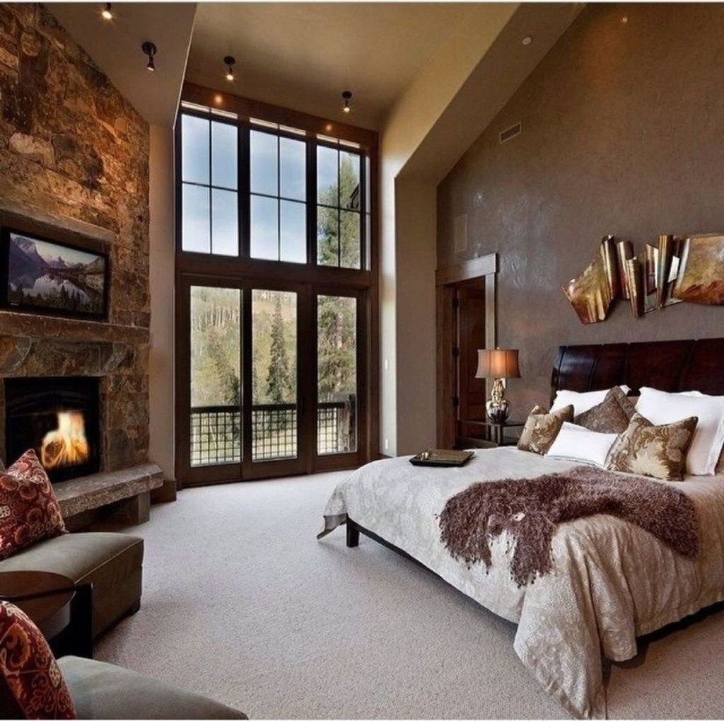 Gorgeous Rustic Bedroom Design And Decoration Ideas 07
