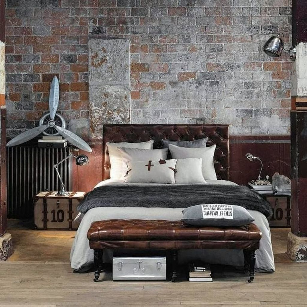 Gorgeous Rustic Bedroom Design And Decoration Ideas 08