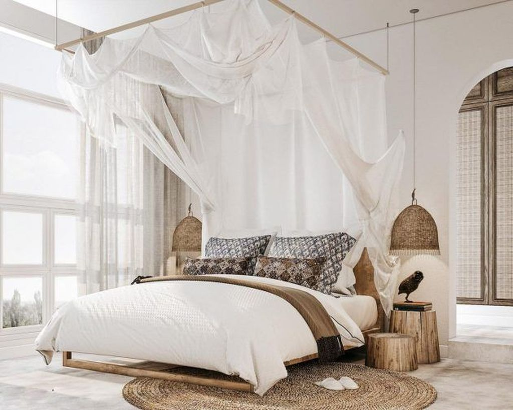Gorgeous Rustic Bedroom Design And Decoration Ideas 10