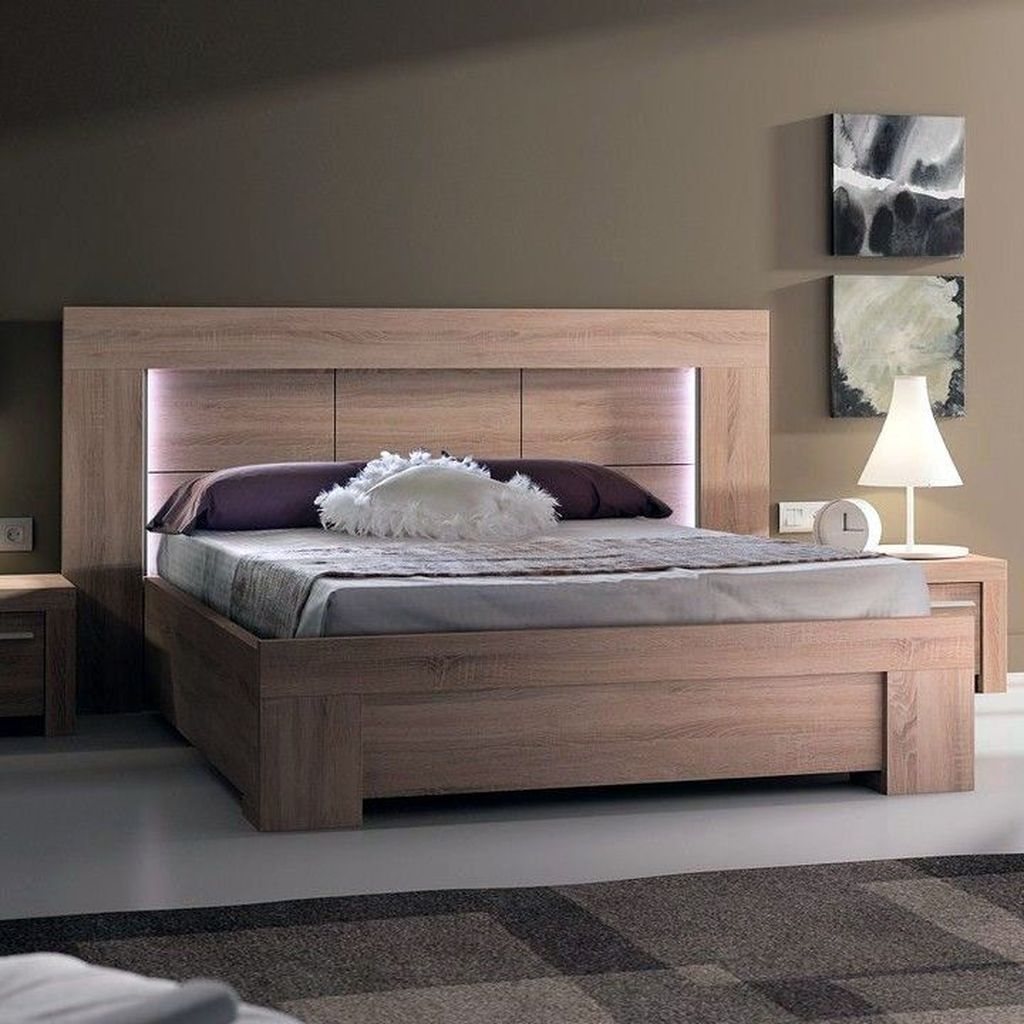 Gorgeous Rustic Bedroom Design And Decoration Ideas 29