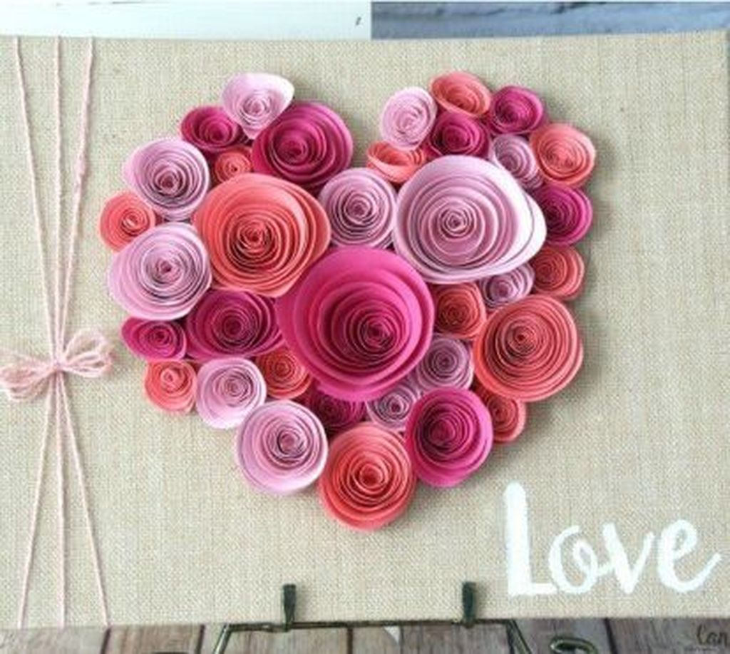 Gorgeous Valentine Wall Decor To Beautify Your Home 08