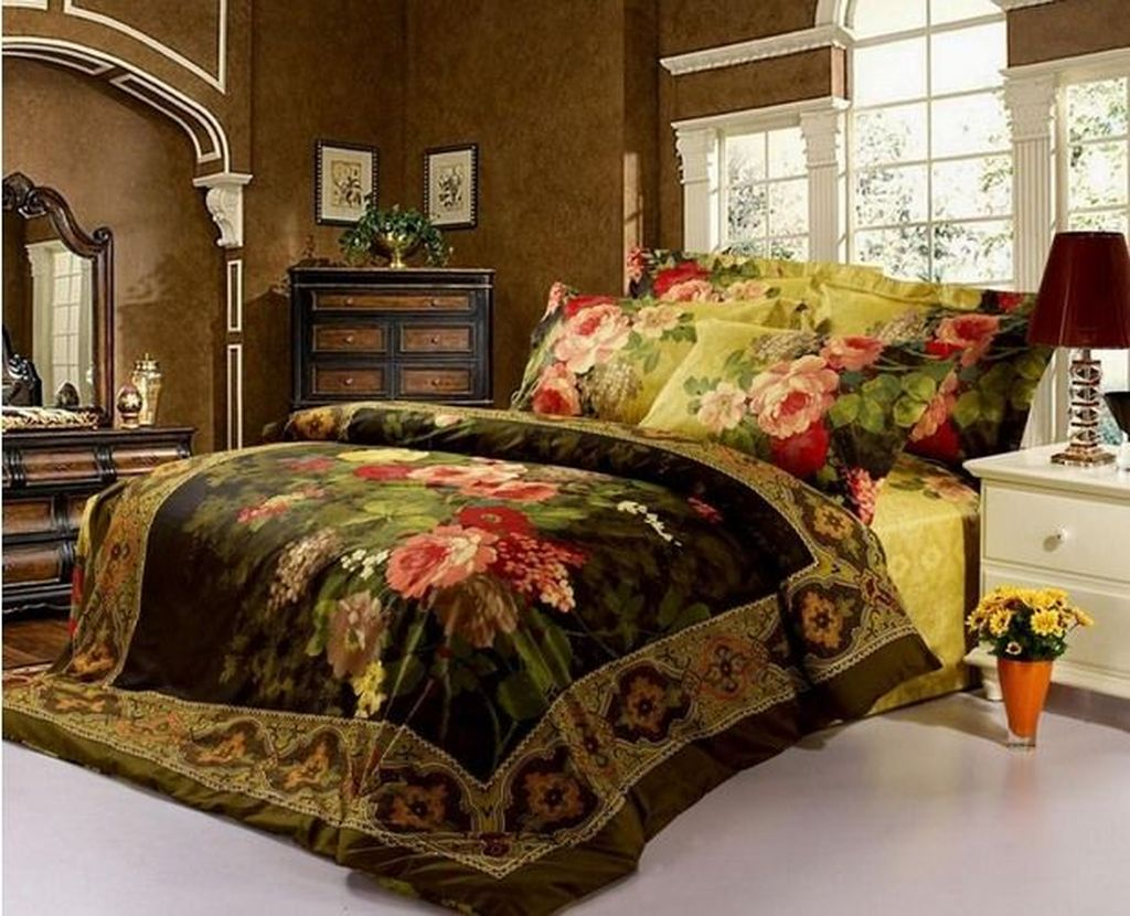 Inspiring Bedding Sets For Perfect Bedroom Decorations 23
