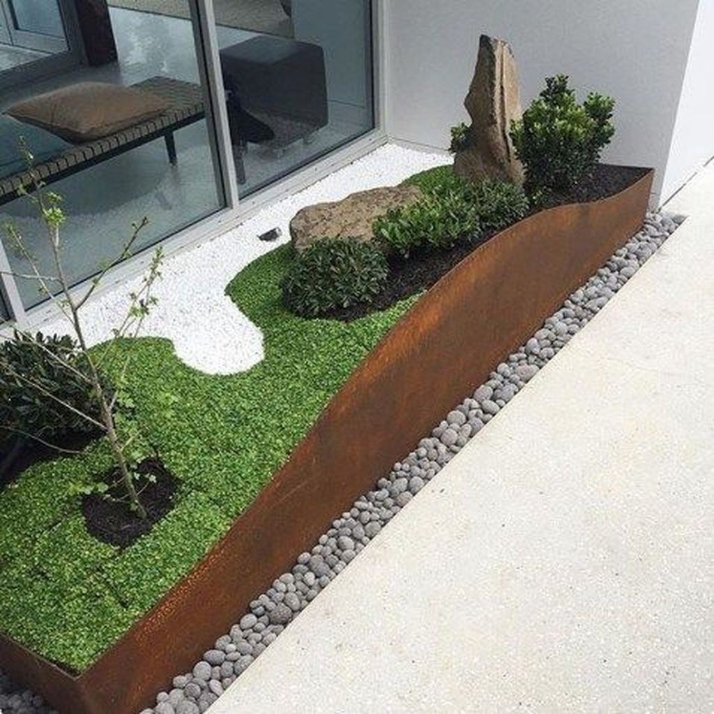 Inspiring Minimalist Garden Landscape Ideas That You Will Like 06