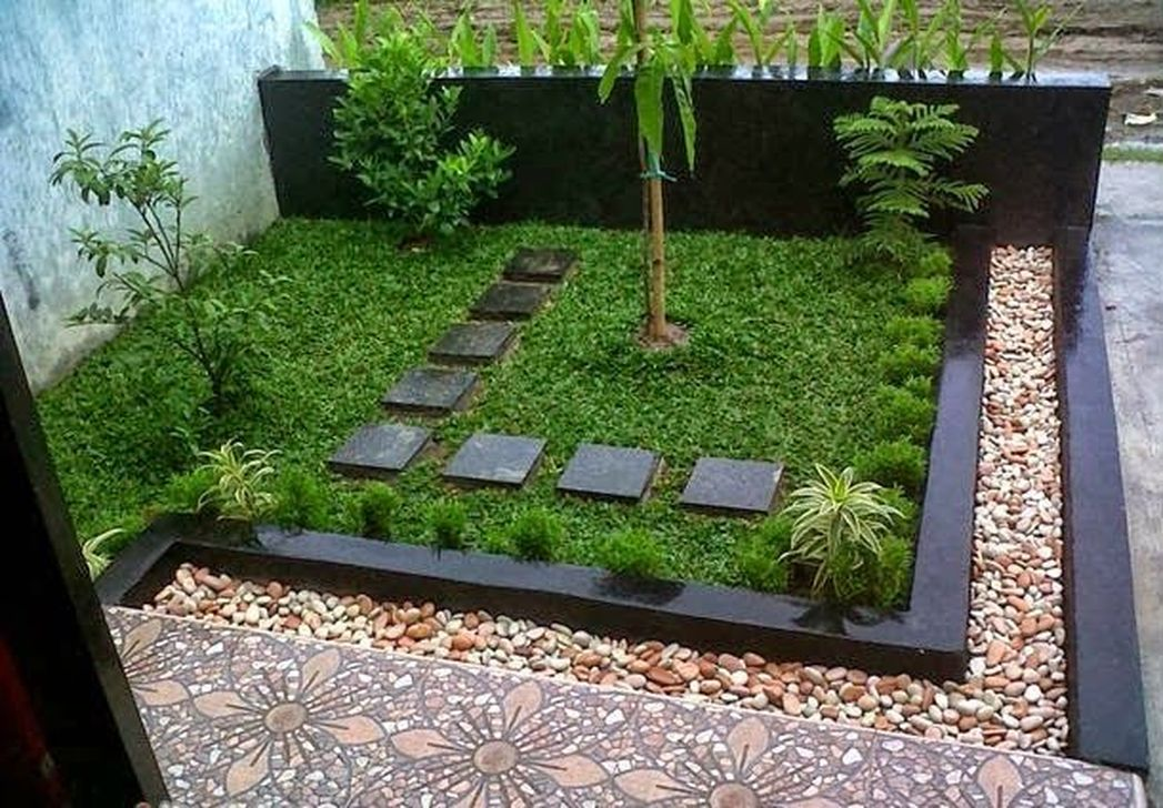 Inspiring Minimalist Garden Landscape Ideas That You Will Like 15