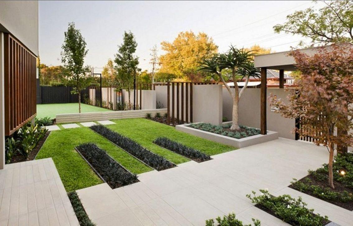 Inspiring Minimalist Garden Landscape Ideas That You Will Like 22