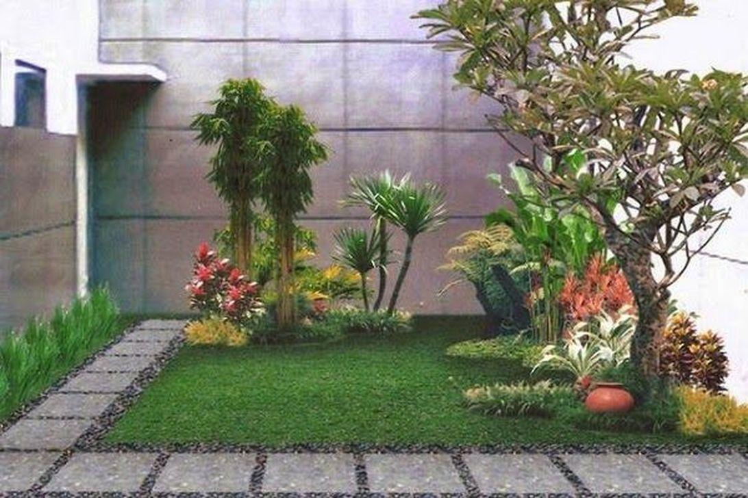 Inspiring Minimalist Garden Landscape Ideas That You Will Like 24