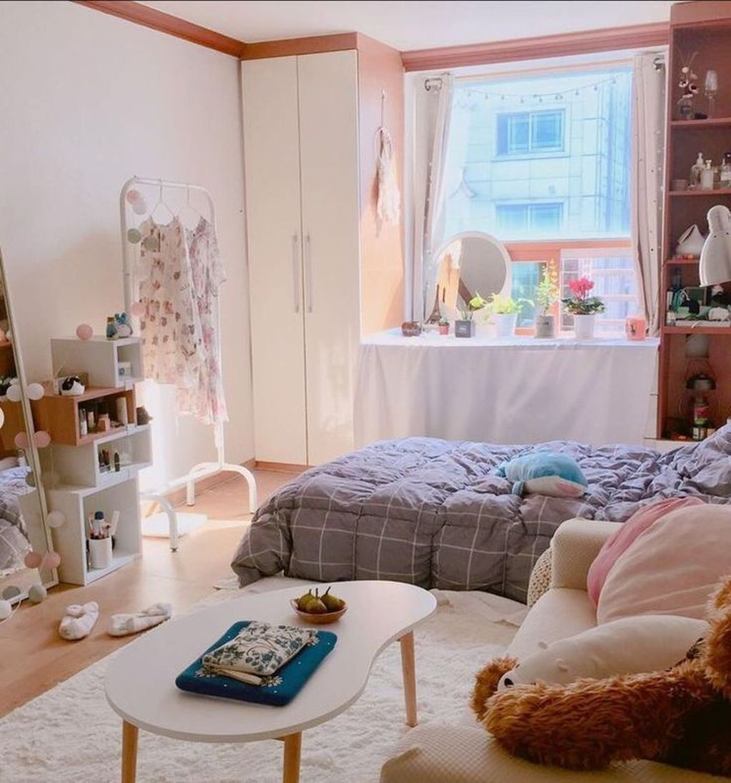Inspiring Small Bedroom Ideas Which You Definitely Like 26