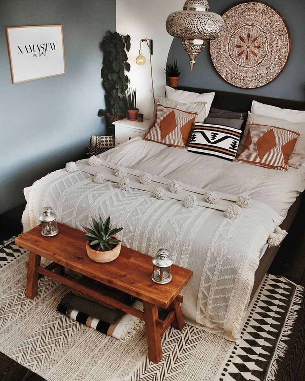 Lovely Bohemian Bedroom Decor Ideas You Have To See 23