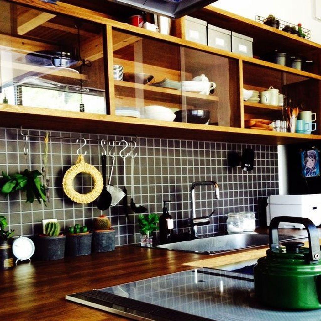 Lovely Japanese Kitchen Design Ideas 16