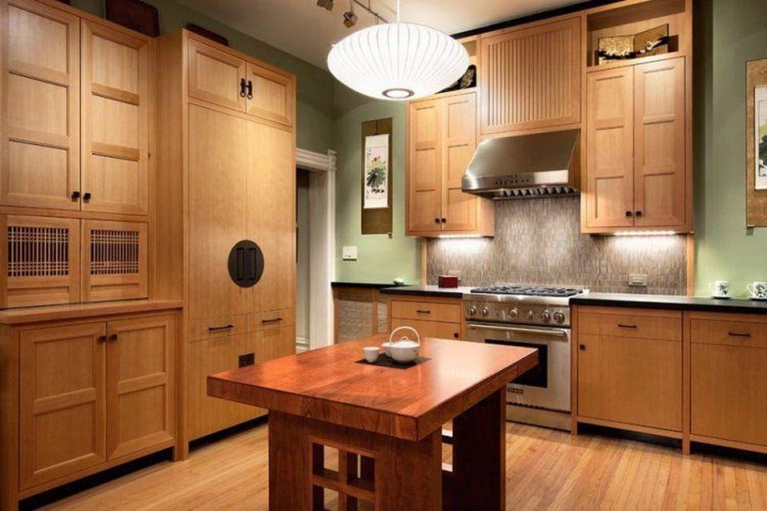 Lovely Japanese Kitchen Design Ideas 21