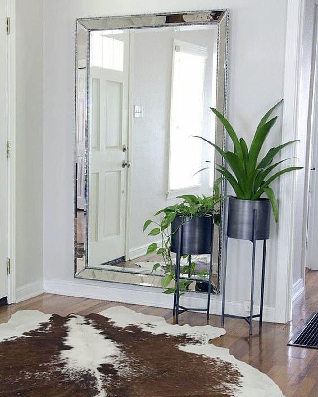 Popular Mirror Wall Decor Ideas Best For Living Room 31
