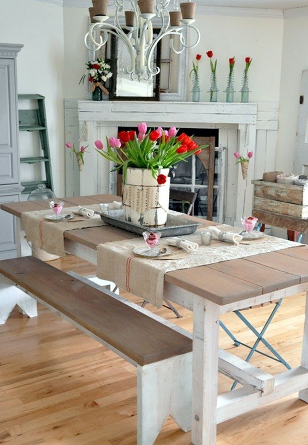 Stunning Romantic Dining Room Decor Ideas Best For Valentines Day 06