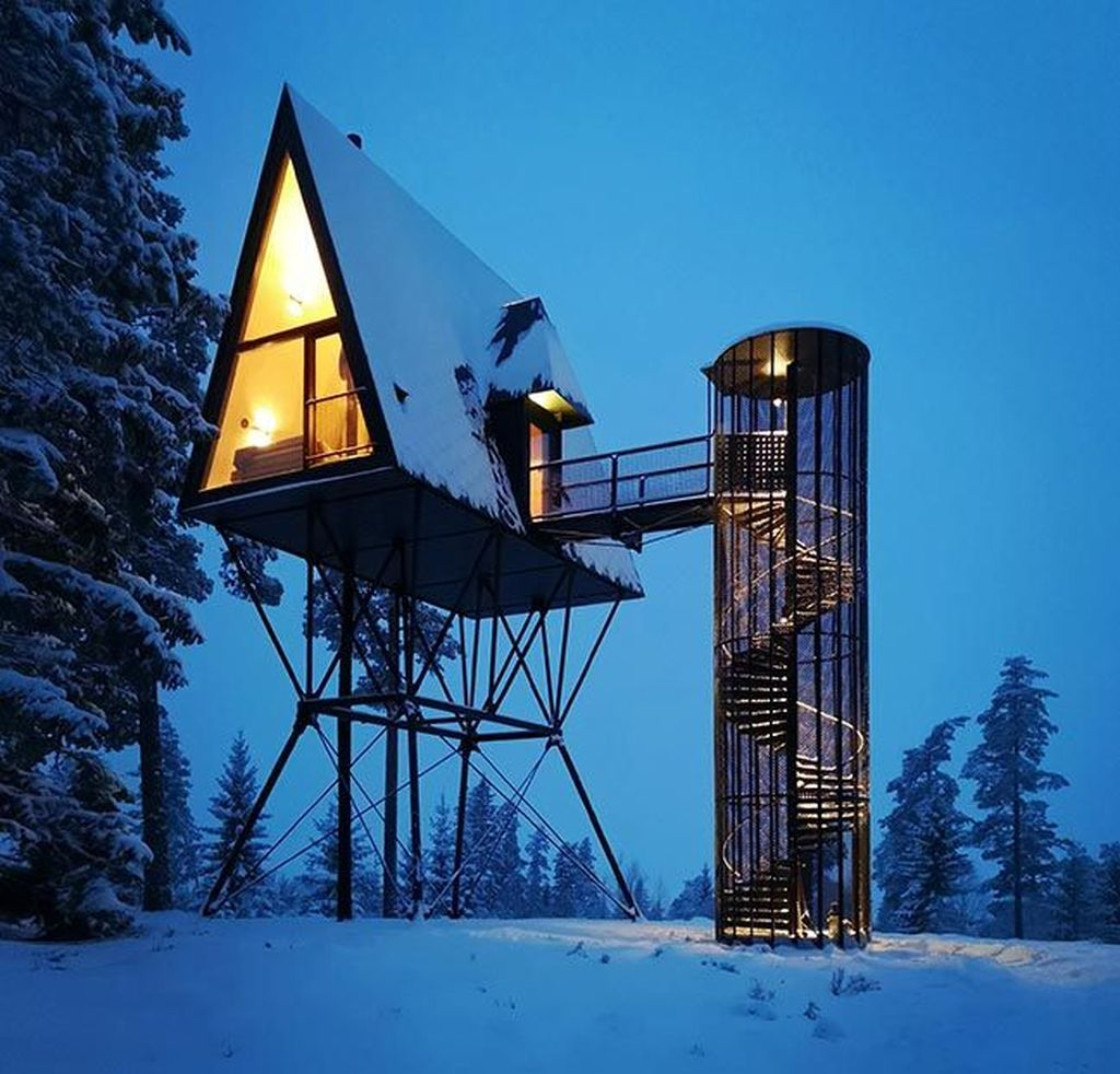 Stunning Tree House Designs You Never Seen Before 02
