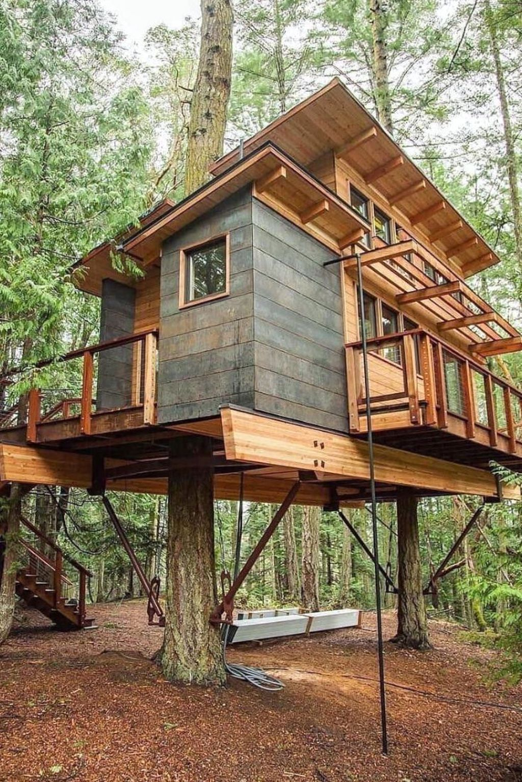 Stunning Tree House Designs You Never Seen Before 06