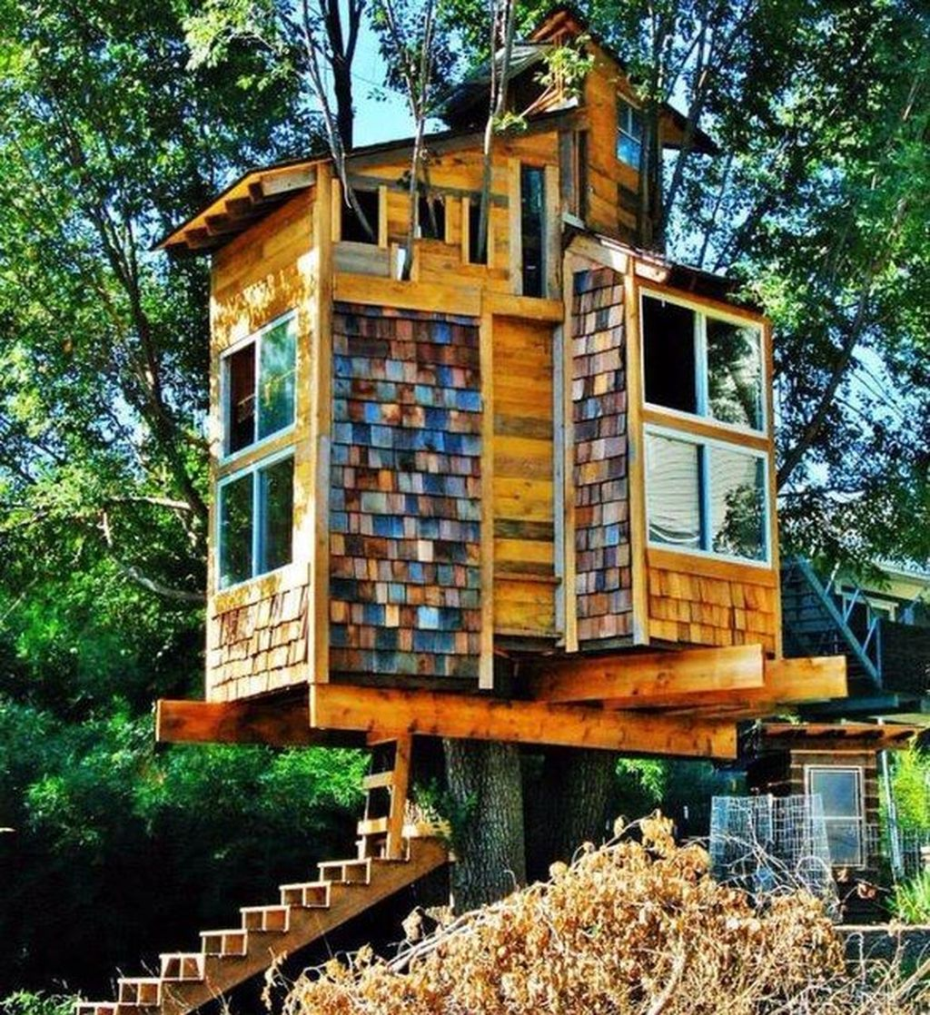 Stunning Tree House Designs You Never Seen Before 09