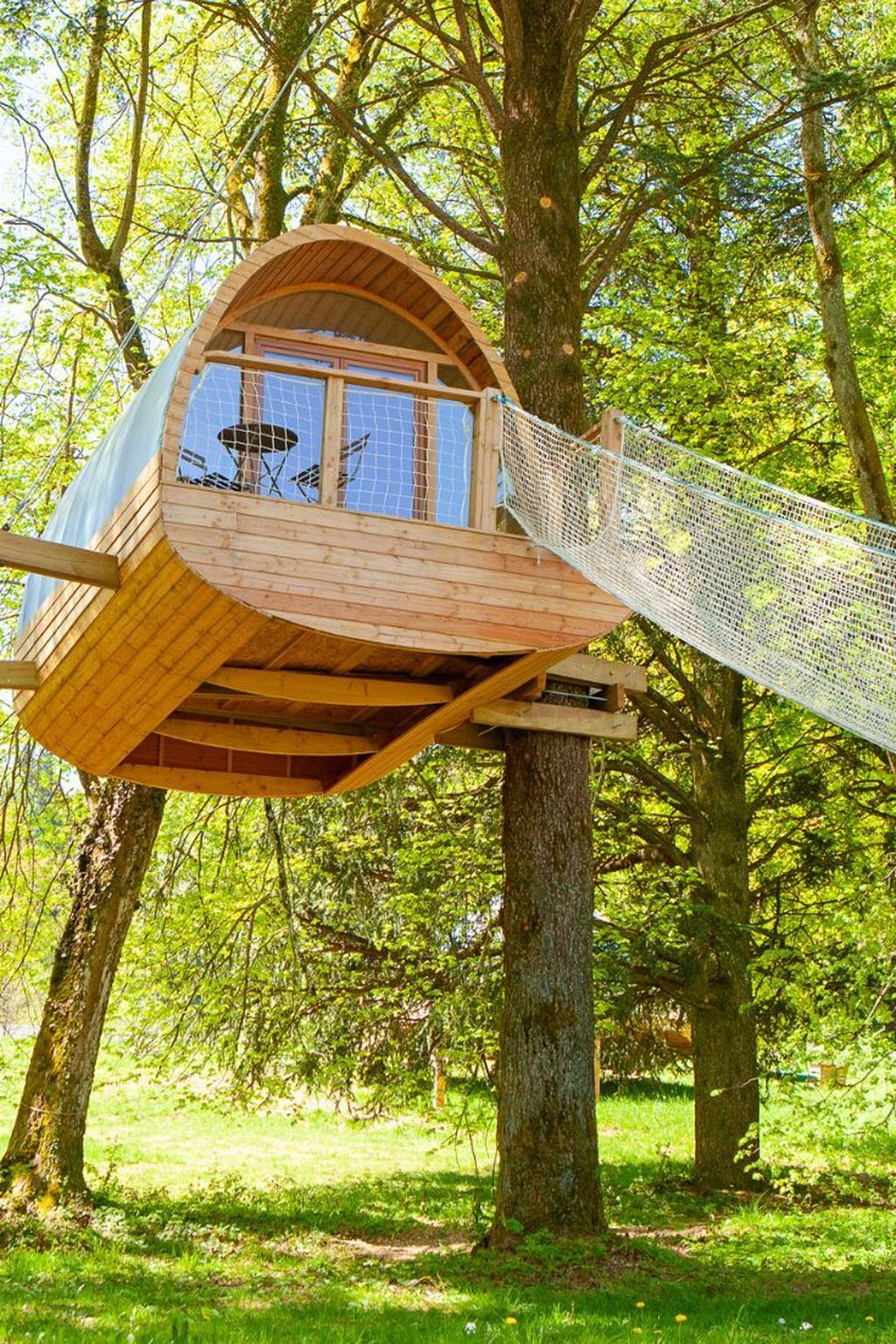 Stunning Tree House Designs You Never Seen Before 18