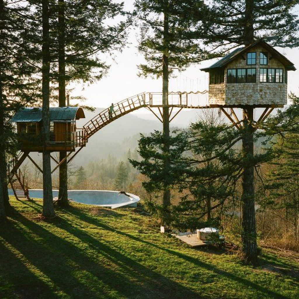 Stunning Tree House Designs You Never Seen Before 21