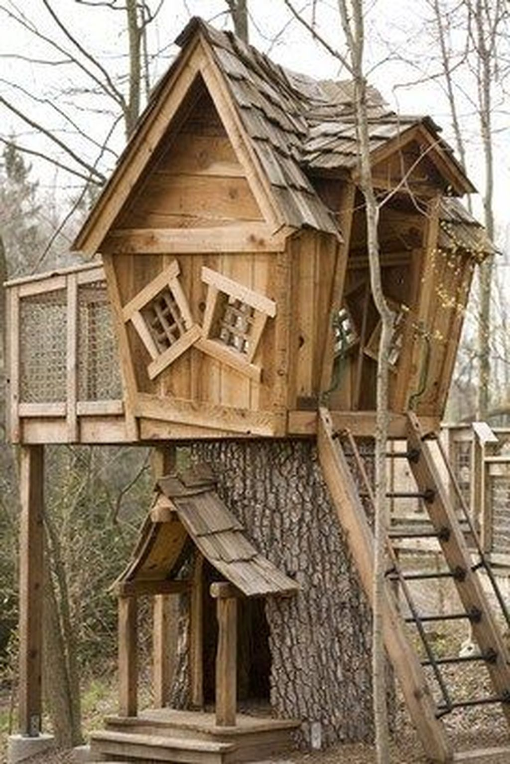 Stunning Tree House Designs You Never Seen Before 31