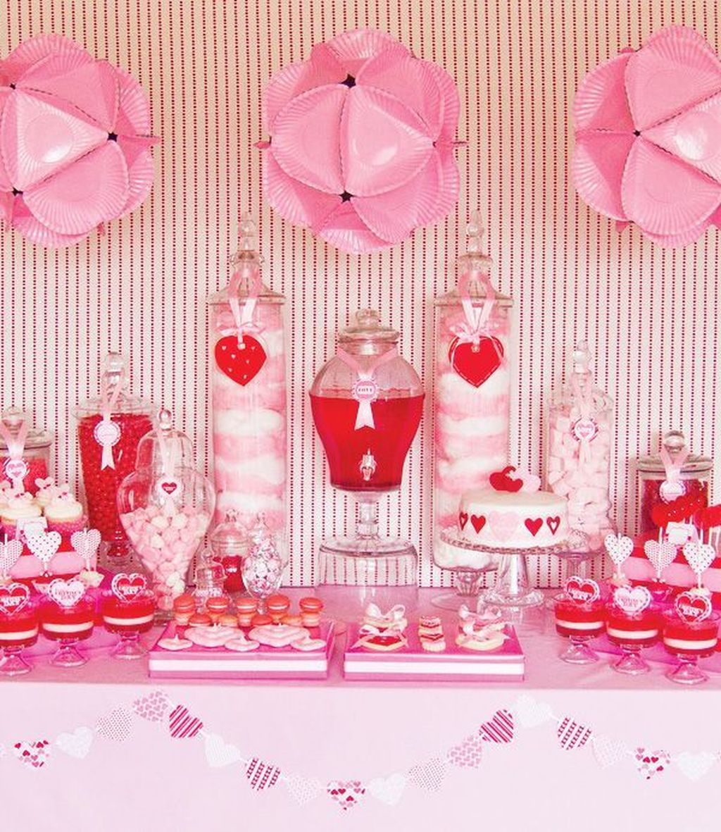 Stunning Valentine Theme Party With A Romantic Feel 08