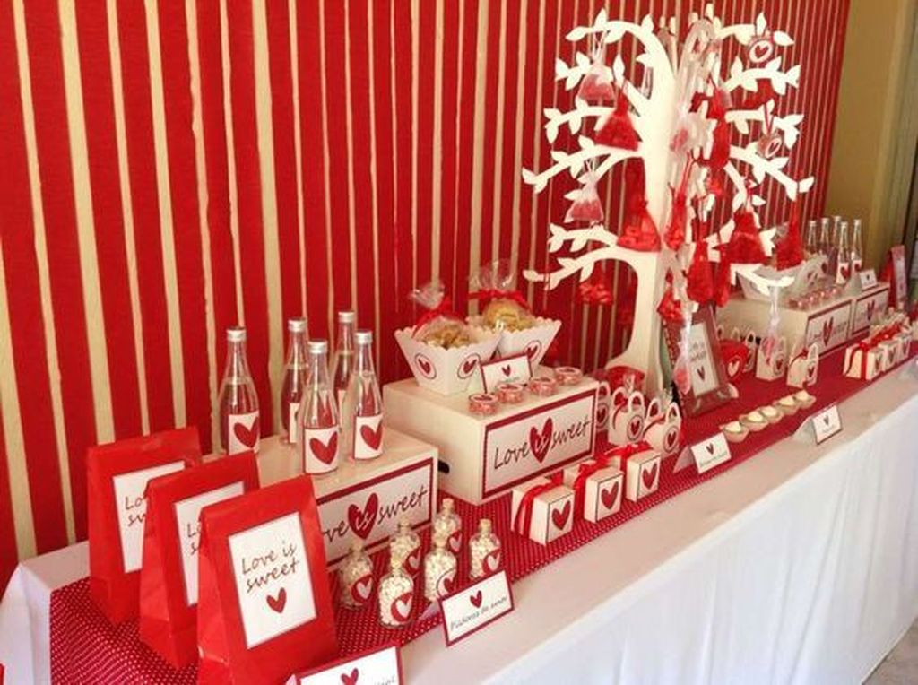 Stunning Valentine Theme Party With A Romantic Feel 19