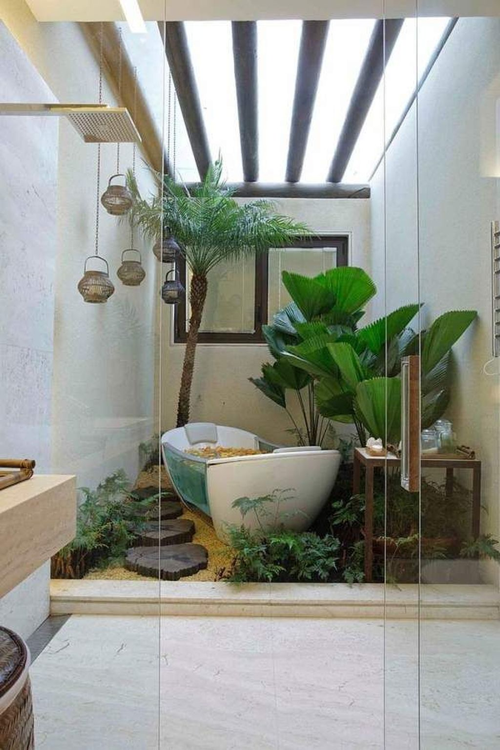 The Best Jungle Bathroom Decor Ideas To Get A Natural Impression 12