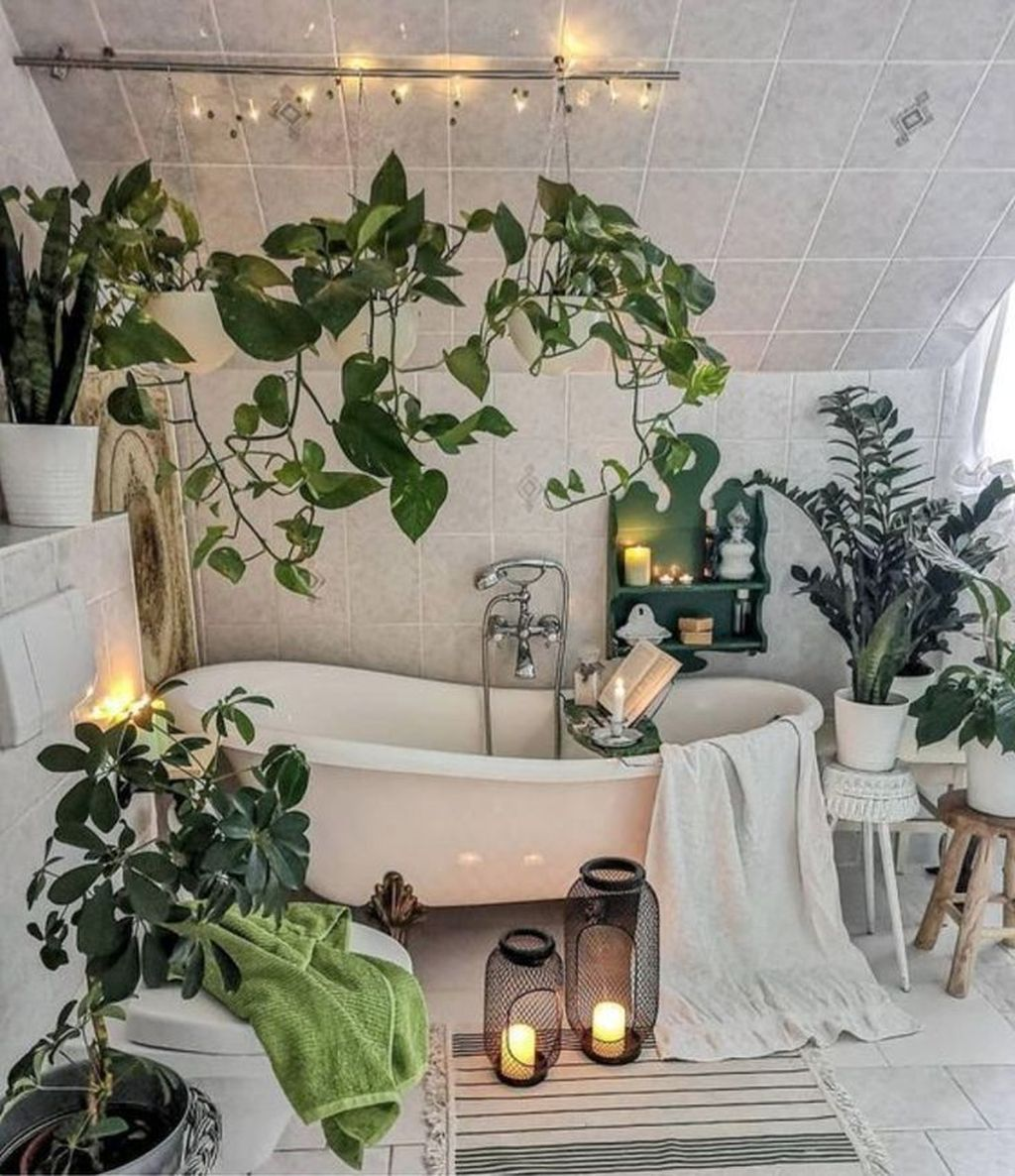 The Best Jungle Bathroom Decor Ideas To Get A Natural Impression 17