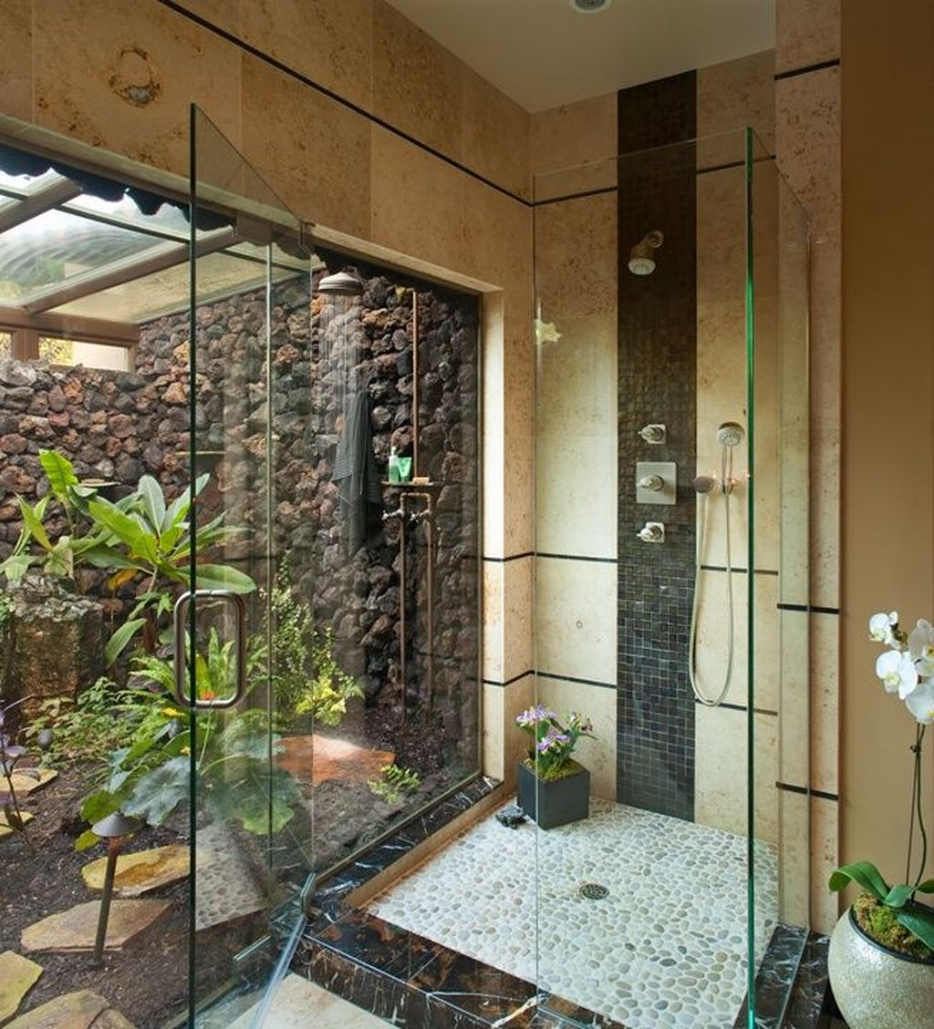 The Best Jungle Bathroom Decor Ideas To Get A Natural Impression 18