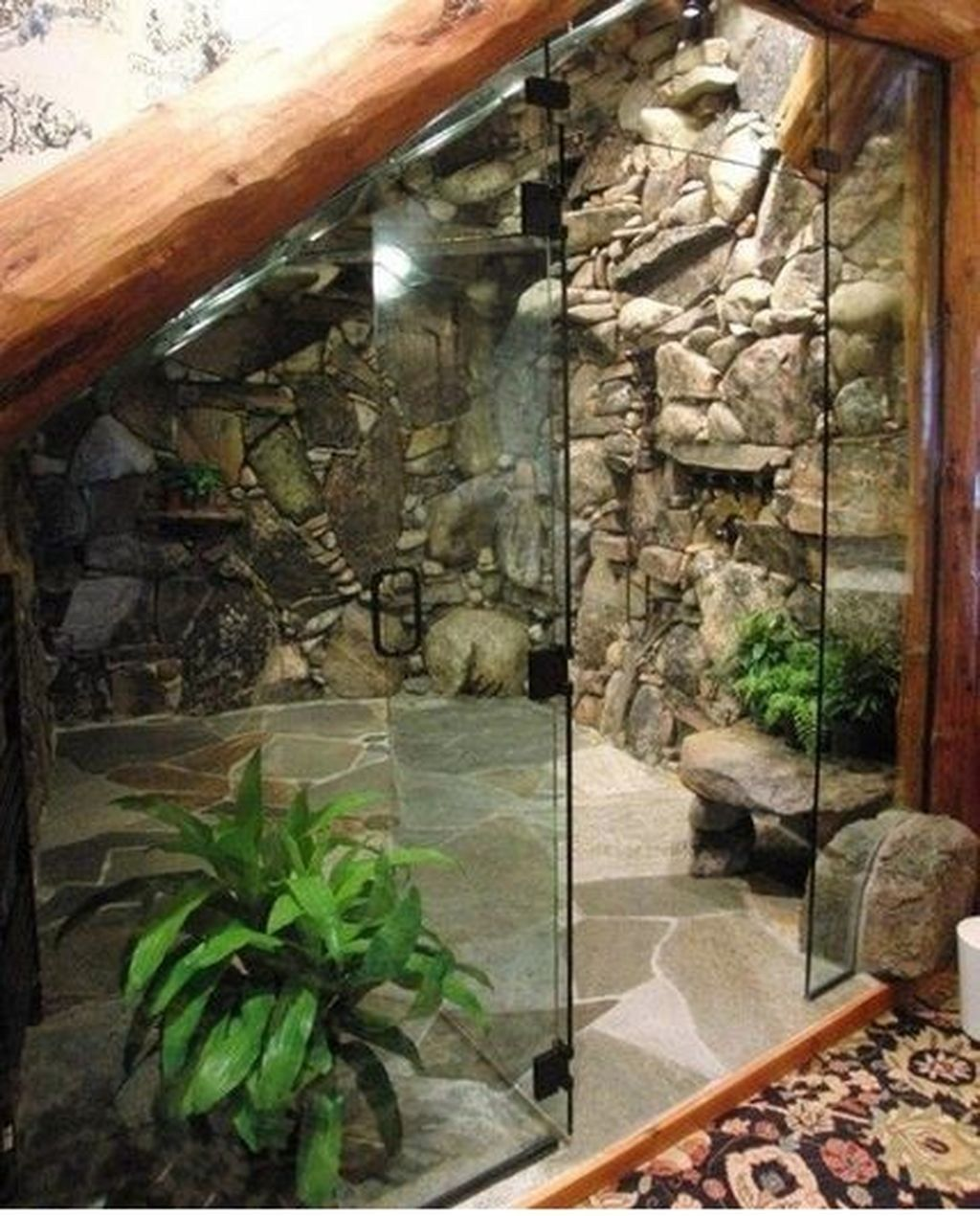 The Best Jungle Bathroom Decor Ideas To Get A Natural Impression 25