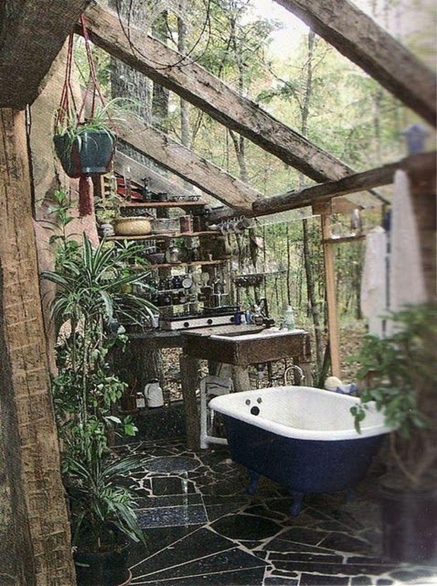 The Best Jungle Bathroom Decor Ideas To Get A Natural Impression 29