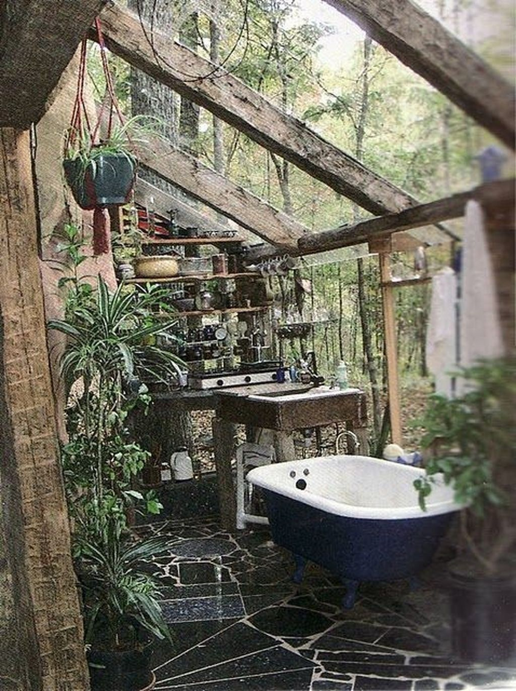 The Best Jungle Bathroom Decor Ideas To Get A Natural Impression 29