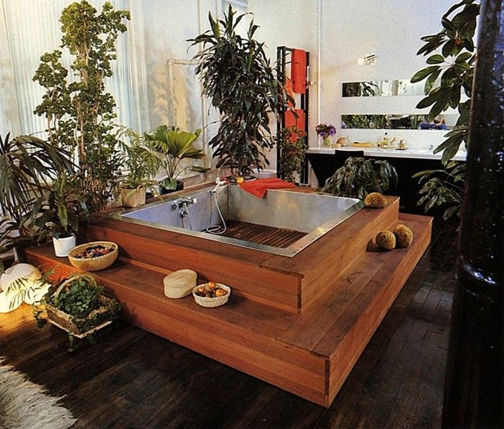 The Best Jungle Bathroom Decor Ideas To Get A Natural Impression 32