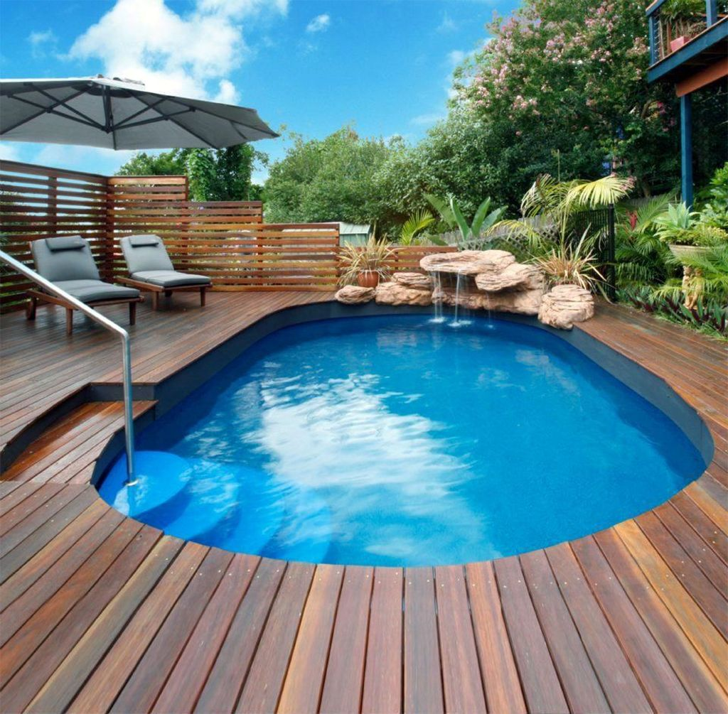 Amazing Ground Pool Landscaping That You Should Copy 01