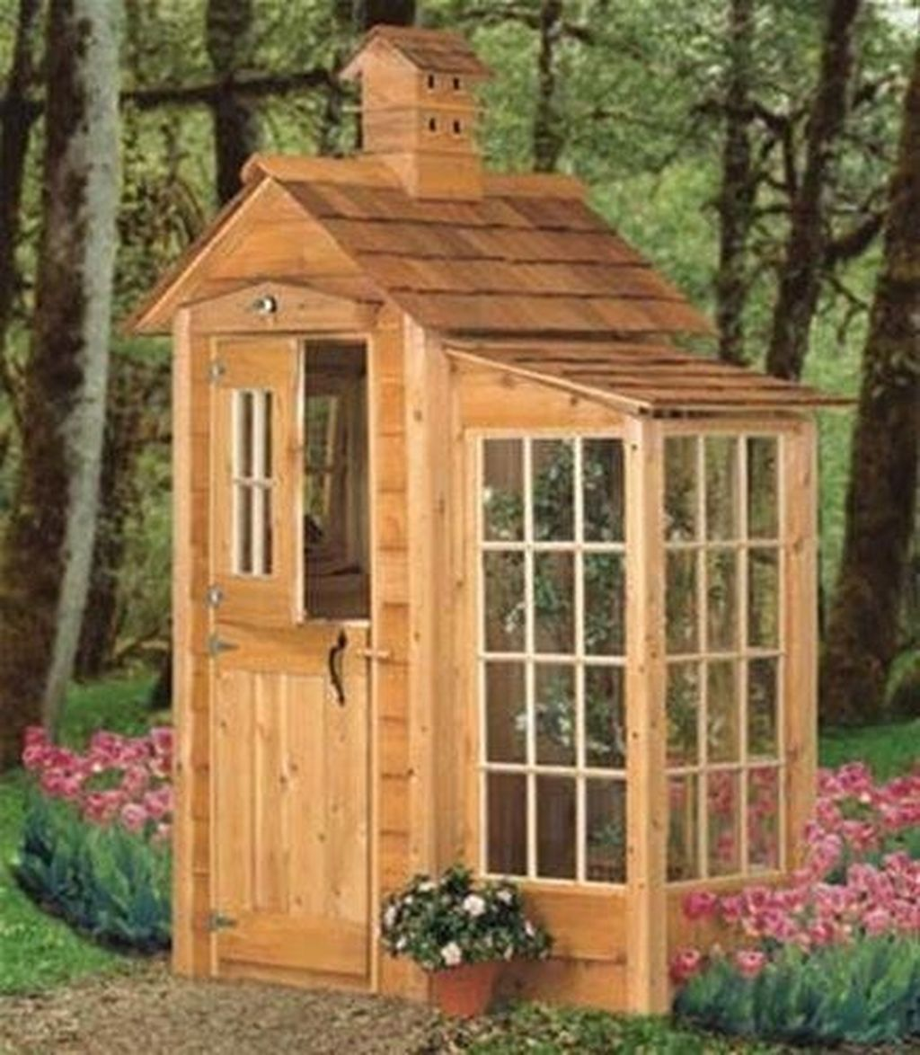 Beautiful Backyard Shed Landscaping Ideas 21