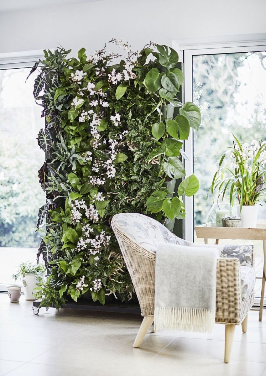 Beautiful Living Wall Indoor Decoration Ideas To Be A Fresh Home 01