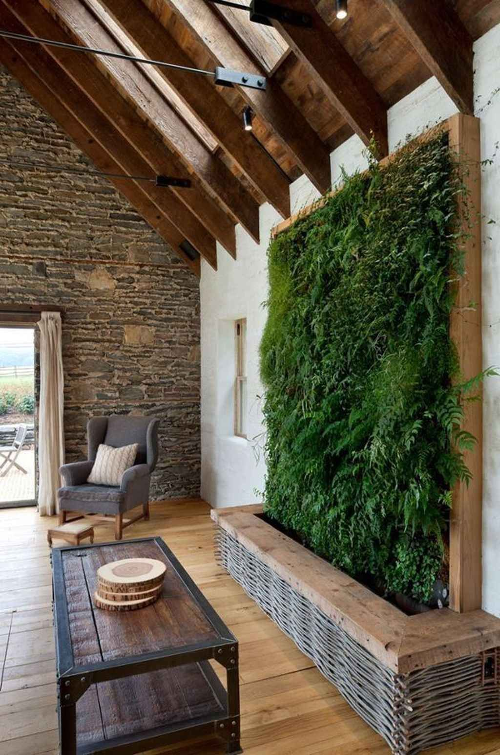 Beautiful Living Wall Indoor Decoration Ideas To Be A Fresh Home 05
