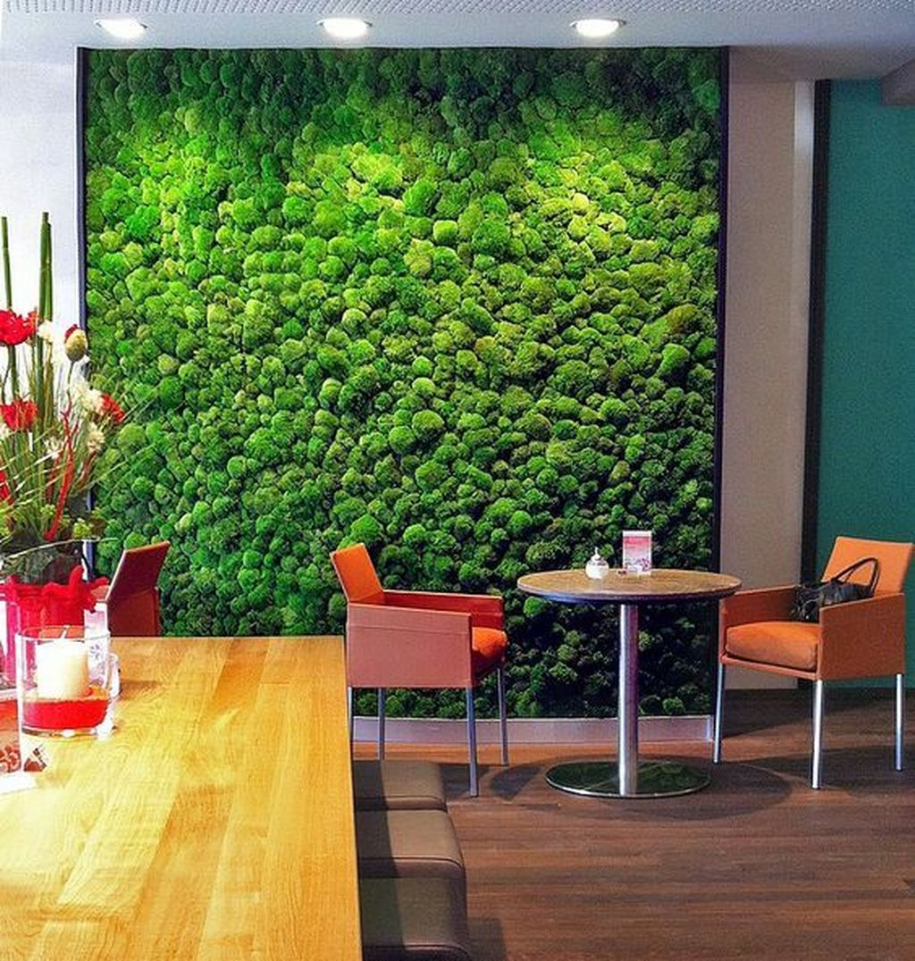 Beautiful Living Wall Indoor Decoration Ideas To Be A Fresh Home 25
