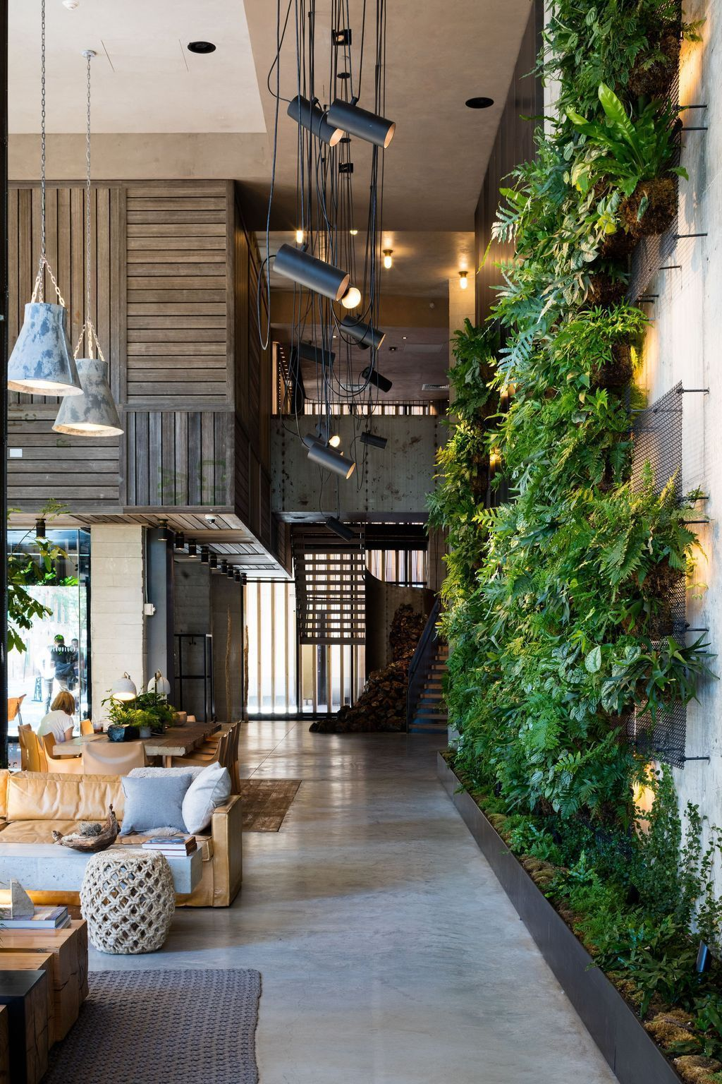 Beautiful Living Wall Indoor Decoration Ideas To Be A Fresh Home 37