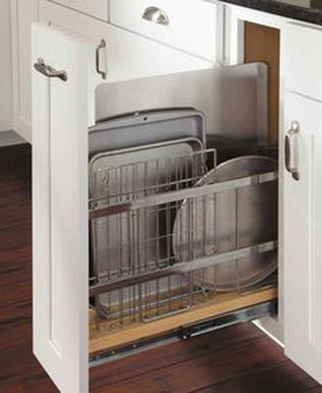 Best Design Ideas For Kitchen Organization Cabinets 16