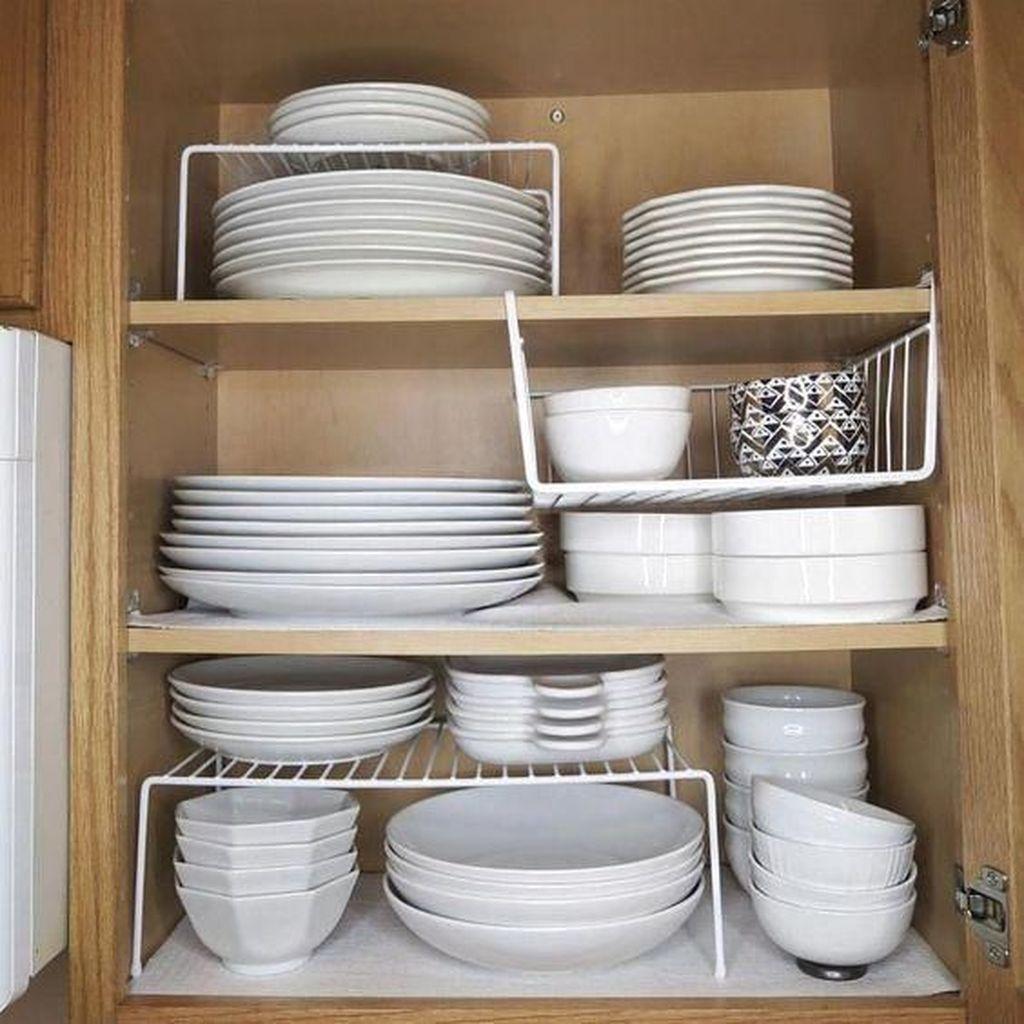 Best Design Ideas For Kitchen Organization Cabinets 26